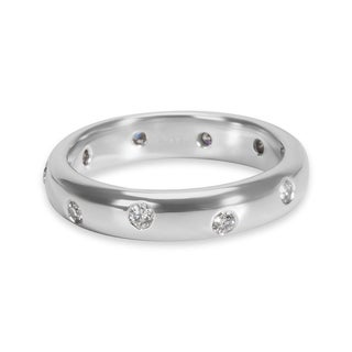 Pre-Owned Tiffany & Co. Etiole Diamond Band in Platinum (0.22 CTW)
