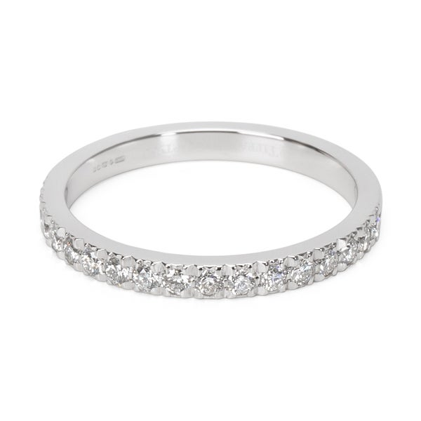 a4fd11df1330 Shop Pre-Owned Tiffany   Co. Novo Wedding Band in Platinum 0.34ctw ...