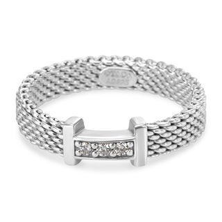 Pre-Owned Tiffany & Co. Thin Somerset Ring with Diamonds