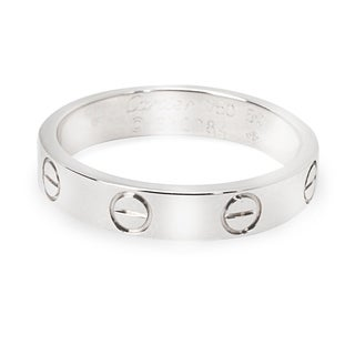 Pre-Owned Cartier Love Ring in 18K White Gold