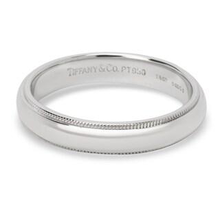 Pre-Owned Tiffany & Co. Milgrain Wedding Band 4mm