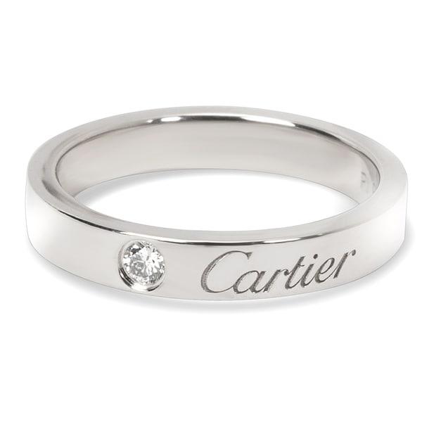 Cartier Wedding Band.Shop Pre Owned Carter C De Cartier Diamond Wedding Band