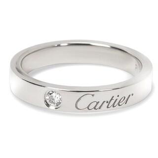Pre-Owned Carter 'C de Cartier' Diamond Wedding Band