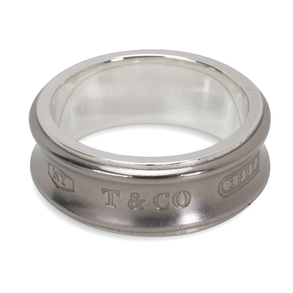 dd1193d4a Pre-Owned Tiffany & Co. 1837 Galaxy Band in Sterling Silver &