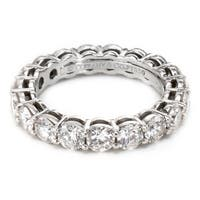 Pre-Owned Tiffany & Co Embrace Eternity Band in Platinum (2.85 CTW)