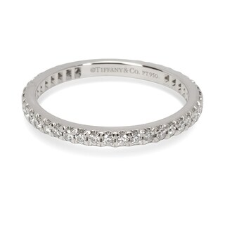 Pre-Owned Tiffany & Co. Soleste Diamond Eternity Band in Platinum