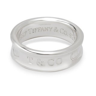 Pre-Owned Tiffany & Co. 1837 Ring in Sterling Silver
