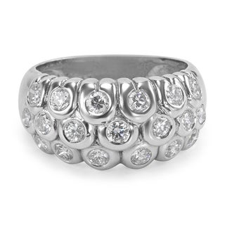 Pre-Owned Diamond Fashion Ring in 18k White Gold (1.14 CTW)