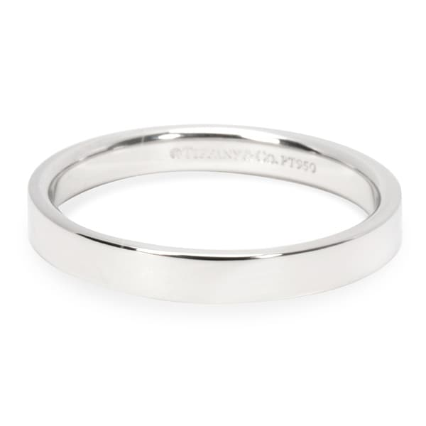 0be9501df595 Shop Pre-Owned Tiffany   Co. Essential Band in Platinum 3mm - Free ...