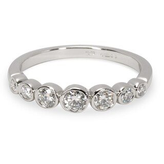 Pre-Owned Tiffany & Co. Jazz Diamond Ring in Platinum (0.31 CTW)