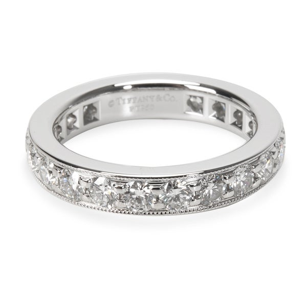 9cb5cf822 Pre-Owned Tiffany Legacy Collection Diamond Band Ring in Platinum 1.21 ctw