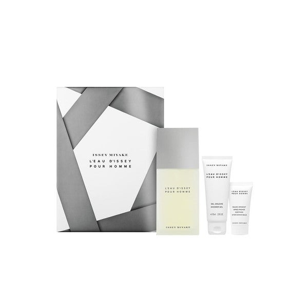 3557ab8c399 Shop Issey Miyake L'Eau D'Issey Men's 3-piece Gift Set - Ships To ...