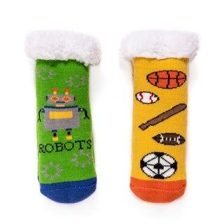 MUK LUKS® Kid's 2-Pack Cabin Socks