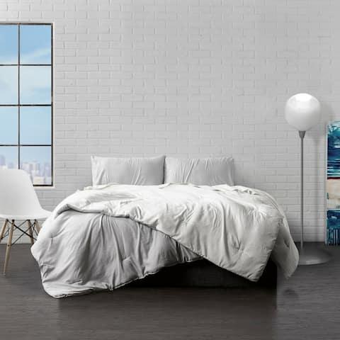 Ella Jayne Home Collection Reversible Microfiber Comforter 3-Piece Set