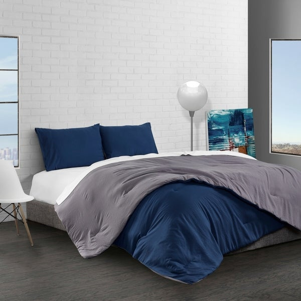 Ella Jayne Super Soft Triple Brushed Microfiber Down-Alternative Comforter