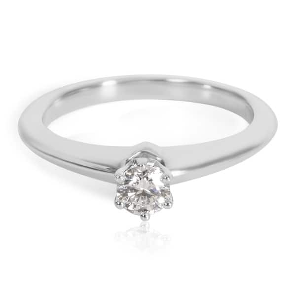f91178f05cd14 Shop Pre-Owned Tiffany & Co. Diamond Solitaire Engagement Ring in ...