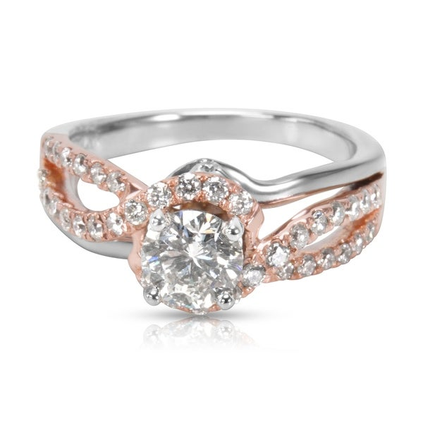 217eaa436 Pre-Owned Kay Jewelers Diamond Engagement Ring in Two Toned Gold 1.00 ctw