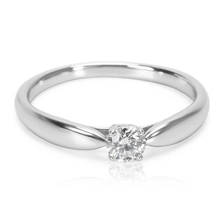 Pre-Owned Tiffany & Co. Harmony Diamond Engagement Ring in Platinum (0.22 CTW)