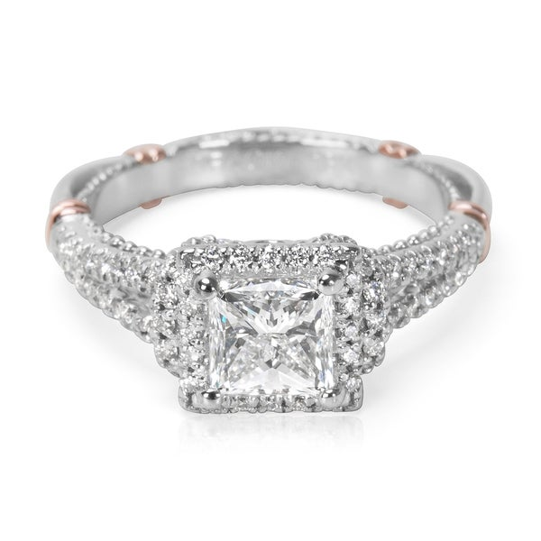 Shop Pre-Owned GIA Certified Veragio Diamond Engagement