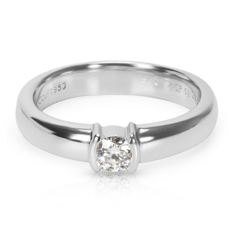 Pre-Owned Tiffany & Co. Diamond Engagement Ring in Platinum (0.19 CTW)
