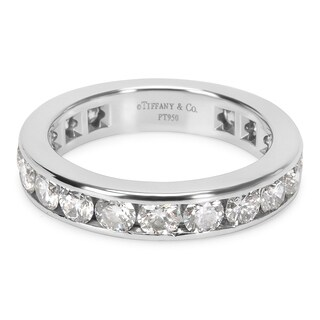 Pre-Owned Tiffany & Co. Diamond Eternity Band in Platinum 1.80 ctw