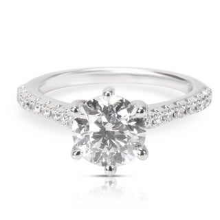 Pre-Owned Ritani Diamond Engagement Ring in 14K White Gold (1.76 CTW)