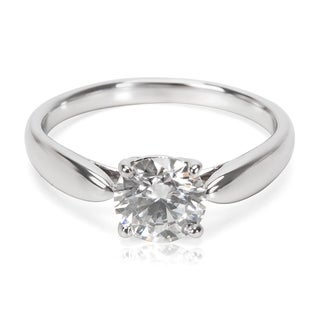 Pre-Owned Tiffany Harmony Diamond Engagement Ring in Platinum 1.06 H VS1