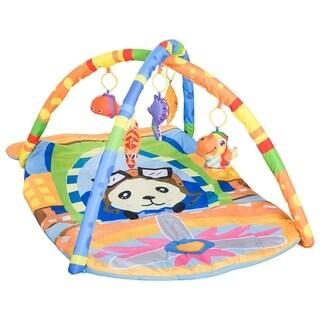 "Qaba 36"" x 26"" Kids Baby Toddler Play Gym Activity Center Creeping Mat - Pilot"