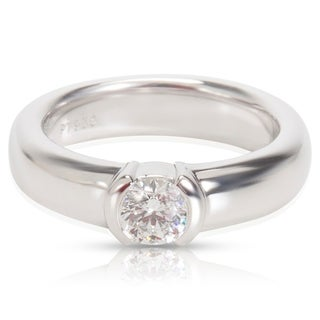 Pre-Owned Tiffany & Co. Diamond Engagement Ring in Platinum (0.31 CTW)