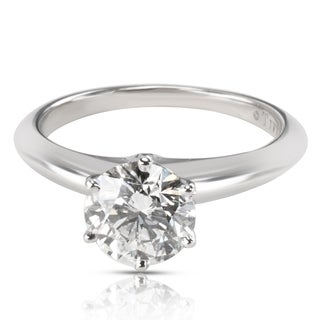 Pre-Owned Tiffany & Co. Diamond Engagement Ring in Platinum 1.52 CTW H/VVS1