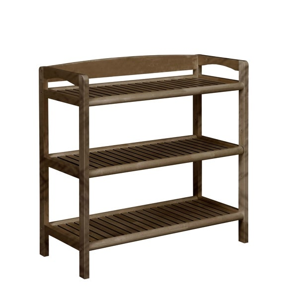 Amazing NewRidge Home Abingdon Solid Wood Bookshelf / Media Console With Adjustable  Shelf