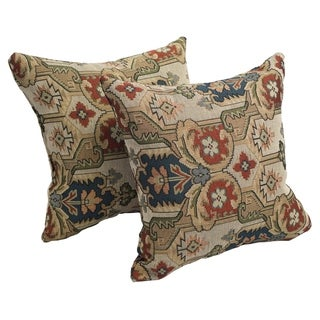 Persian Palace 17-inch Accent Throw Pillow (Set of 2)