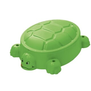 Turtle Pool/Sandpit with Lid - N/A