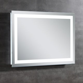 OVE Decors Helios 28 in. L x 39 in. with Single Wall LED Mirror
