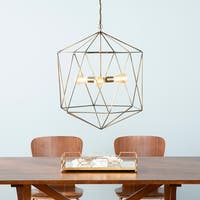 Palm Canyon Puerta Geometric 3-light Pendant Lamp
