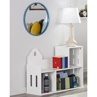 Novogratz Addision City White Bookcase