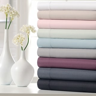 Link to Ella Jayne Home Collection Super Soft Triple Brushed Microfiber 4-Piece Bed Sheet Set Similar Items in Mattress Pads & Toppers