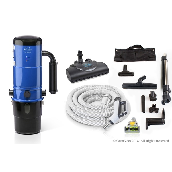 shop prolux cv12000 central vacuum unit system with prolux power nozzle kit and 25 year warranty. Black Bedroom Furniture Sets. Home Design Ideas