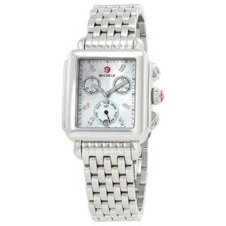 Deco Diamond Dial Watch - N/A - One size
