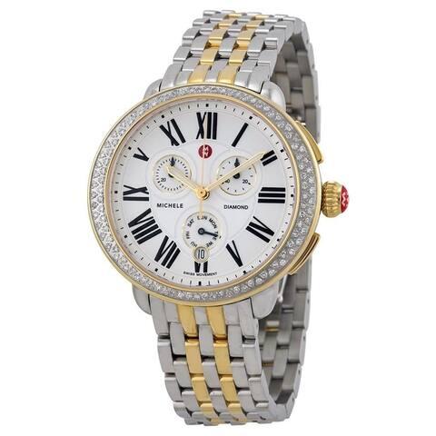 Jamie Two-tone Diamond Watch