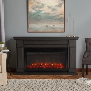 Real Flame Carlisle Grey Electric Fireplace