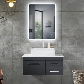 Newport Lighted Impression LED Wall Mirror