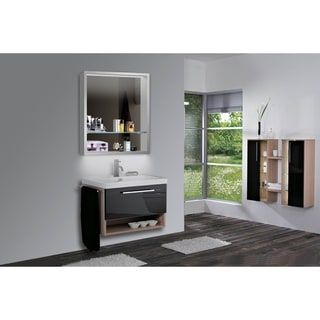 Aura Lighted Impressions LED Mirror Medicine Cabinet
