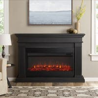 Real Flame Beau Grey Electric Fireplace