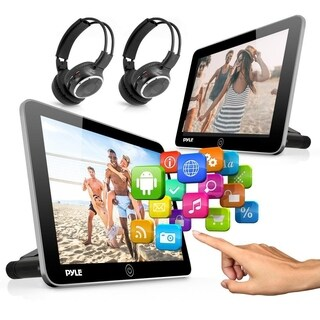 Pyle Android Touchscreen Tablet Entertainment Display -Dual Headrest