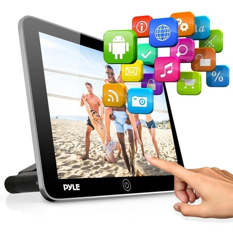 Pyle Android Touchscreen Tablet Entertainment -Vehicle Headrest Mount