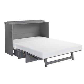 Shop Seaside Murphy Cabinet Queen Bed With Mattress