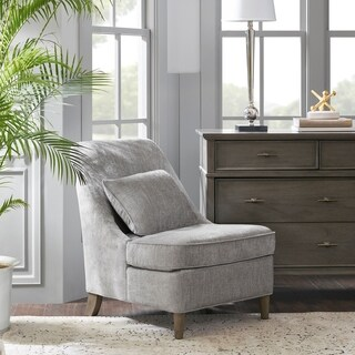 Madison Park Signature Tilly Light Grey Accent Chair