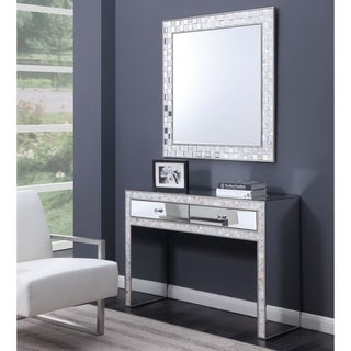 Silver Orchid Haid Pearl Vanity Dressing Table