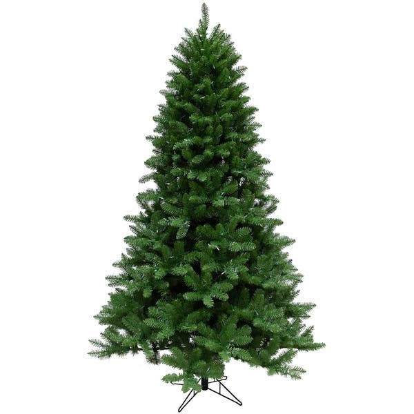 Most Realistic Artificial Christmas Tree.Christmas Time 7 5 Ft Greenland Pine Artificial Christmas Tree With Multi Color Led String Lighting And Holiday Soundtrack